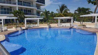 Photo for Beach front property located by one of the best beaches in Panama