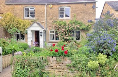 Photo for Clouds Hill is perfectly located on a quiet lane, with views over rooftops of Cotswold cottages
