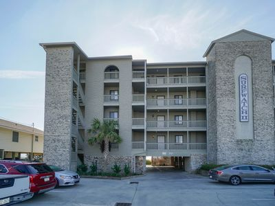 Photo for **ALL-INCLUSIVE RATES** Surfwatch II 102 - Oceanfront, Elevator, Pool