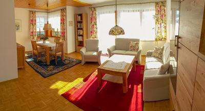 Photo for Brine, sun, mountain air + tranquility + in the heart of the spa area, 7 min. To Solemar