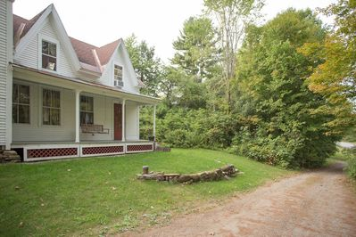 Entirely separate, two-story private addition to the house for you