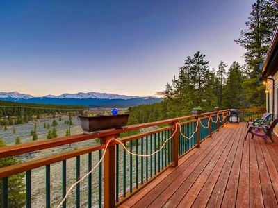 Photo for Mountain Majesty-Minutes to Ski Cooper-Private fishing out your door!