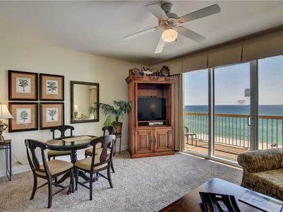 Photo for 5th Floor Ocean Front Unit With Furnished Balcony And Granite Top Kitchen Counters