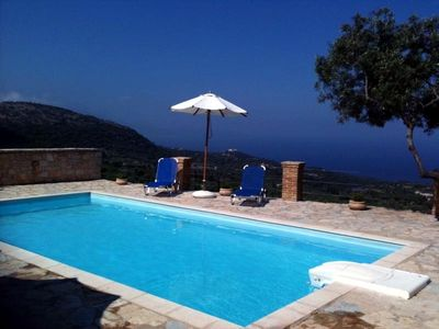 Photo for Stone built villa with private pool and spectacular views