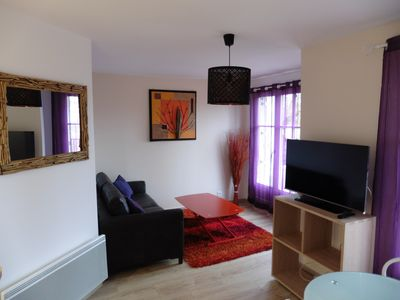 Photo for 1BR Apartment Vacation Rental in Bailly-Romainvilliers, Ile-De-France