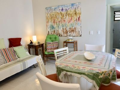 Photo for Condo Wembley Tennis, Toninhas, Renovated apartment, 2 bedrooms, 6 people.