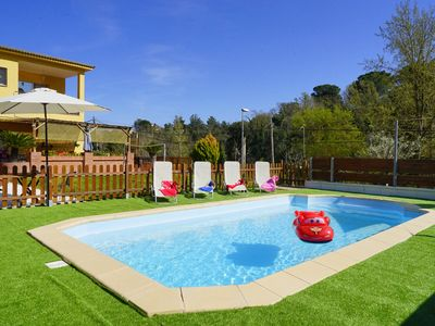 Photo for Ideal for 1-2 families: swimming pool, sauna, garden, quiet, dog possible