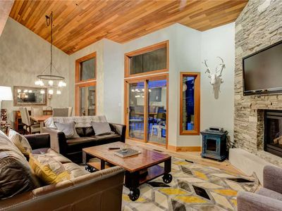 Photo for Updated townhome 1 minute from Deer Valley resort. Pool/Hot Tub. On Shuttle!