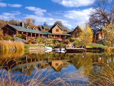 Photo for Sprawling 200-Acre Rustic Luxury Reserve with Swimming Pond and Hot Tub.