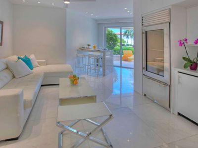 Photo for ASK FOR DISCOUTNS - Luxurious Ocean View Suite at Fisher Island with Golf Cart