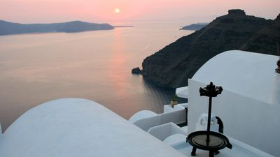 Photo for Monolithos Villa Private Pool Relaxation Santorini upto 3guests