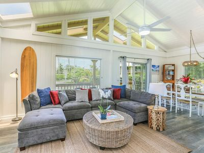 Photo for Beautiful Hanalei Home, walk to the Bay/Town.  August-November 10% Discount!