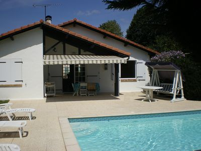 Photo for Landes family home with pool 4 bedrooms / 2 bathrooms
