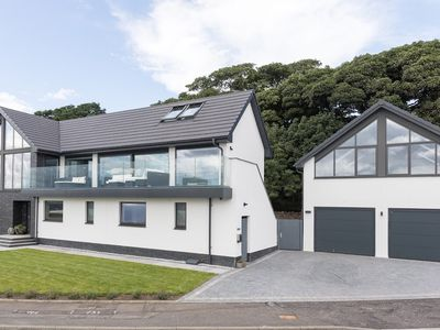 Photo for The Wee Glasshouse is a modern studio apartment situated on the Fife coastline.