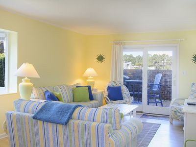 Photo for Villas D6: Two bedroom Villa with a community pool and soundside pier.