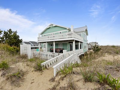 Photo for The best of Sandbridge! Oceanfront, pool, hot tub, and pool table! GORGEOUS!