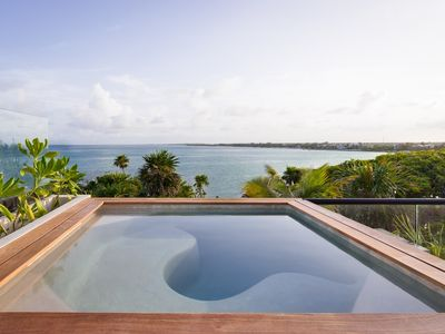 Photo for TULSAYAB - Beachfront Penthouse - Jacuzzi, Infinity Pool