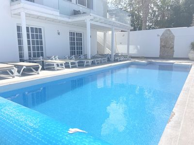 Photo for Large 5 Bed, 4 Bath Villa - Stunning Views - Large Private Pool - 4 Terraces