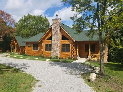 Photo for Spacious 1-3 bedroom cabin close to Branson/Sleeps up to 8
