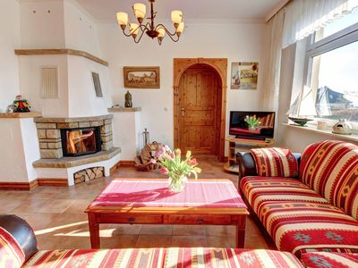 Photo for Apartment in the old town with fireplace, winter garden, terrace, shower temple