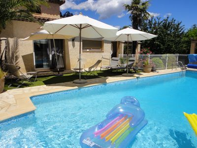 Photo for Charming house with pool sun on the French Riviera