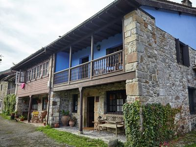 Photo for Beautiful country house with stunning views of the mountains of Asturias