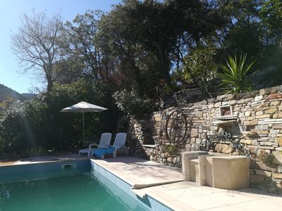 Photo for Studio in a charming villa in the heart of the Gulf of Saint-Tropez