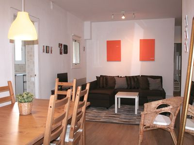 Photo for Vallhonrat Cosy apartment with big private terrace in Poble Sec