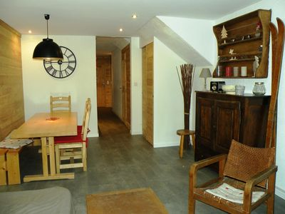 Photo for Apartment - 50 m2 - South facing - skis - 6/8