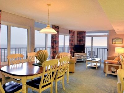 Photo for Incredible Oceanfront Views from Spacious 3BR with Large Wraparaound Balcony!