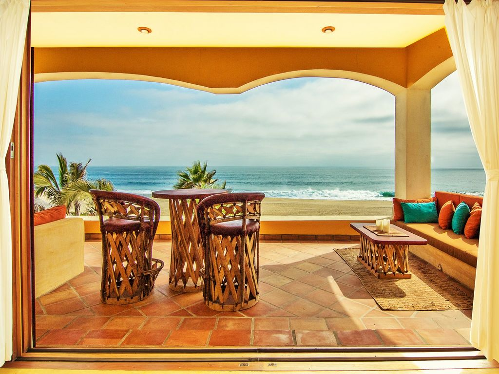 Casablanca Beachfront Villa, Pool, Rent 1,2 Or 3 Suites