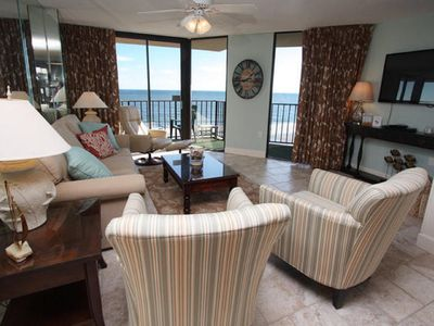 Photo for Summit 8B, 3 BR Beautifully Updated Ocean Front Luxury Condo with an Outdoor Swimming Pool