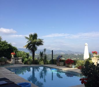 Photo for Villa In Mougins with stunning views of the Esterel and Tanneron mountains