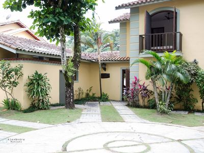 Photo for Townhouse in gated community, close to Praia Grande and Tenorio Beach