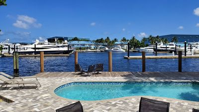 Photo for Heated Pool! Hot Tub! Amazing View! Waterfront - New River!