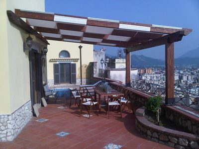 Photo for independent panoramic villa a few km from all the tourist destinations of Campania