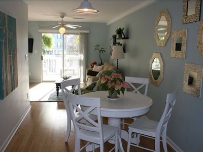 Photo for Steps to the Beach, Pool, Dog friendly!