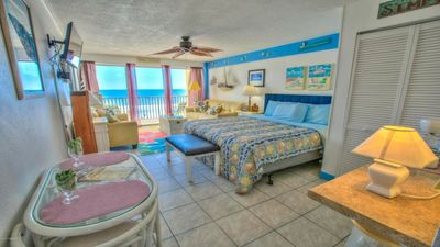 Photo for Affordable DIRECT OCEAN VIEW on the Most Famous Beach.