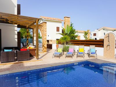 Photo for Villa Iris - Modern Villa in Exclusive Development with Large Pool, BBQ, WIFI and UK Channels
