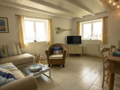 Photo for Sea view, stone house between crozon camaret, Wifi, enclosed garden, bright
