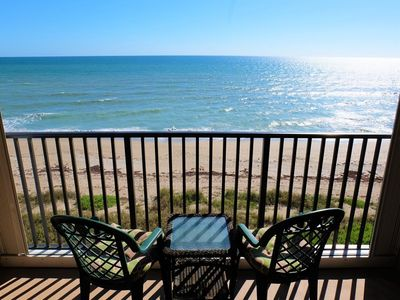 Photo for Enjoy Gorgeous, Oceanfront Views From This Beautiful 2/2 Condo on the 6th Floor!