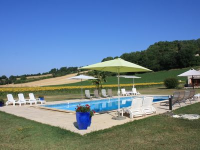 Photo for GÎTE LEONIE with Pool - 6 / 7p - near Lot Valley - Quercy South West