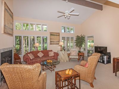 Photo for Walk to Beach & Intimate Golf Views - in One Charming Condo