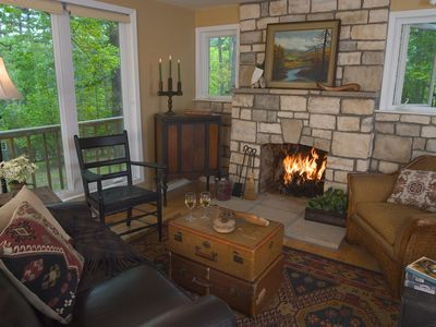 Photo for Private Cottage at Lake Resort - Unique, Quiet, Close to Town, Pets Ok