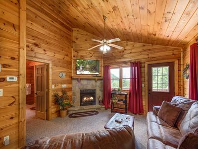 Photo for Tender Moments, 1 Bedroom, Sleeps 2, Private, Mountain View, Hot Tub