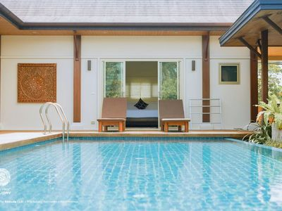 Photo for VD2:ORLY  Oriental Villa 2BR Private Pool-Layan Beach