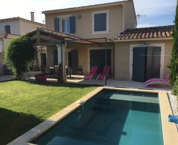 Photo for St Rémy de Provence, new villa, 4 bed / 2 baths between Alpilles and downtown