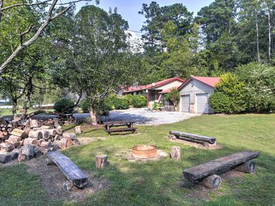 Photo for Vintage Home w/Fire Pit - 5.5 Mi To Kentucky Lake!