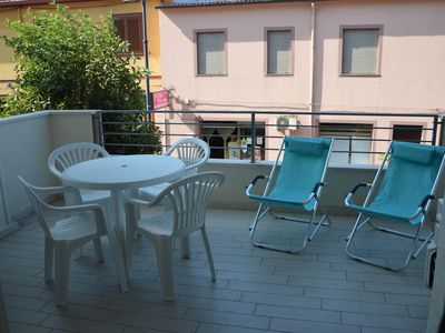"""Photo for """"VIA ROMA"""" brand new central apartment with WIFI and sea view"""