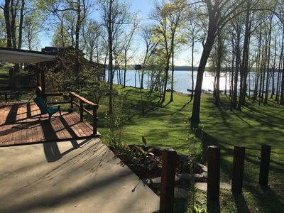 back deck- lake view